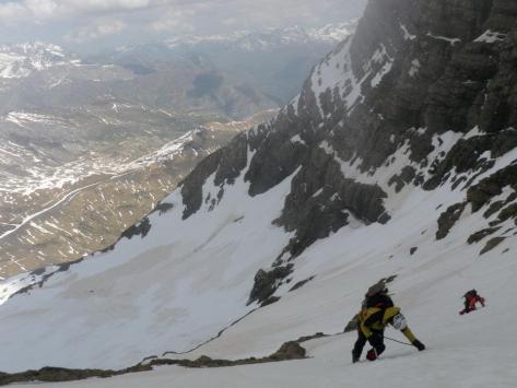 descenso por Col de Gabietos. foto: Fran Rodríguez