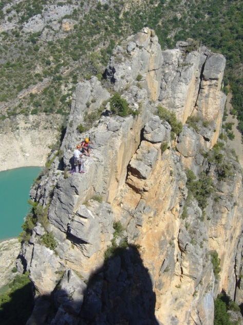 tramo de final de cresta. foto: José Fernández
