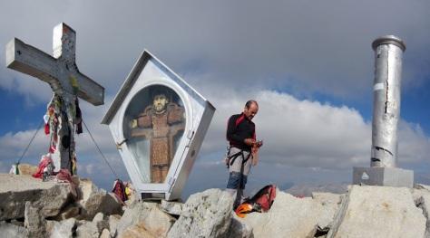 cima del Aneto. foto: Alberto Lasala