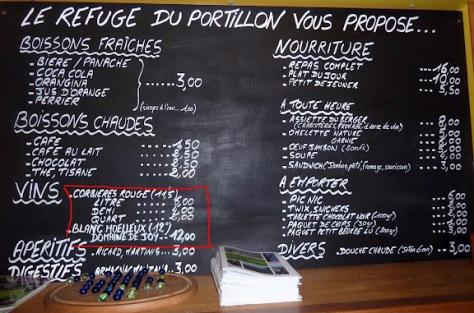carta refugio Portillon. foto: Mónica Fritzen