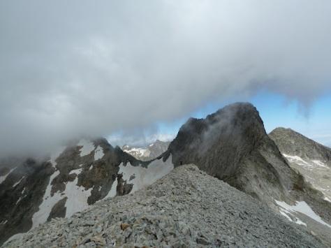 cresta hacia Crabioules. foto: Mónica Fritzen