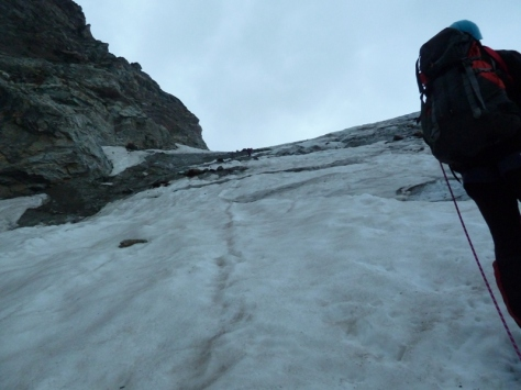 glaciar de grandes Murailles. foto: Mónica Fritzen