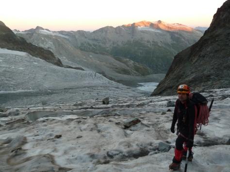 glaciar Tschierva. foto: Mónica Fritzen