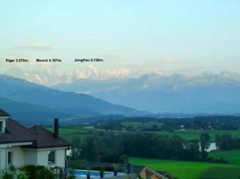 vistas desde Gerzensee. foto: Francis Tomas