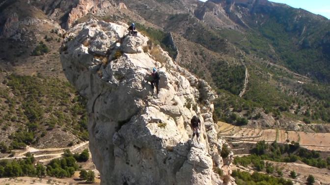 cresta La Foradá, Xorret de Catí.