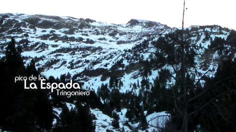 Pico La Espada. captura de vídeo: Félix Escobar