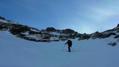 hacia el Pico La Espada. captura de vídeo: Félix Escobar