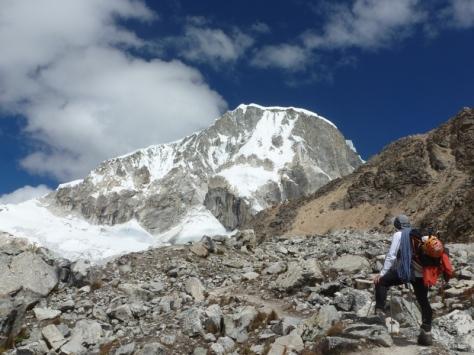 Ranrapalca 6.162m, pedazo de montañón. foto: Javier García