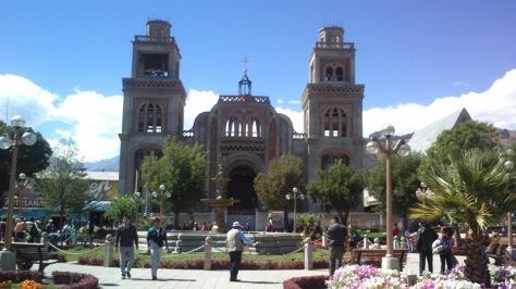 Catedral de Huaraz. foto: Manuel López