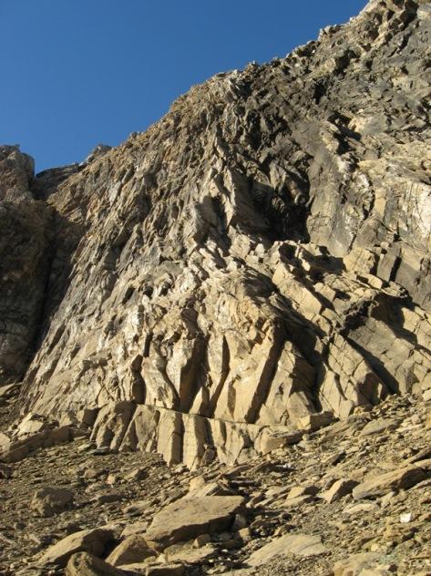 esopolón Norte del Aspe. foto: Luis Gil