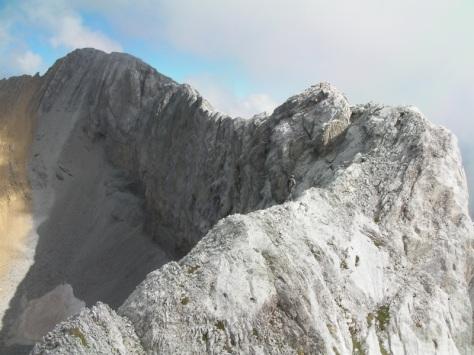 cresta hacia Pico Ripera. foto: Félix Escobar