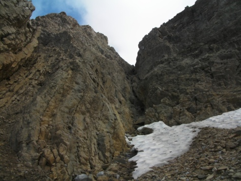 canal norte del Pico Ripera. foto: Félix Escobar