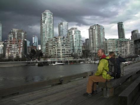 Vancouver desde Granville Island. foto: Félix Escobar