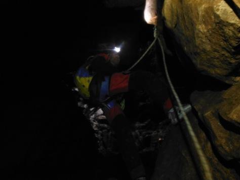 Juanlu en uno de los fraccionamientos. foto: Manolo Bernal