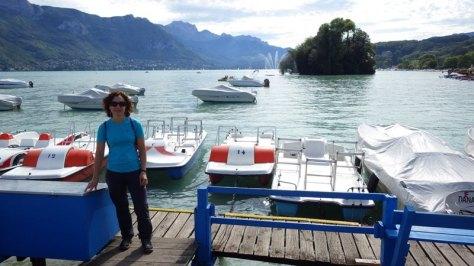 Lac d'Annecy, Île des Cygnes. foto. Eva Abascal