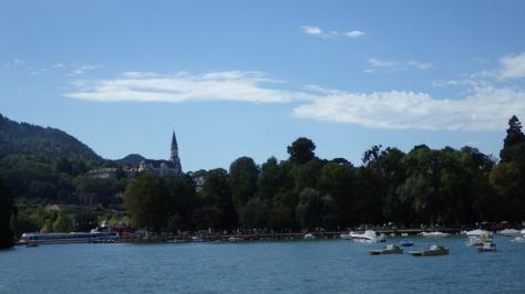 la Visitation desde el Lac d'Annecy. foto. Eva Abascal