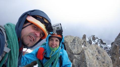 Aiguille du Tour 3.542m. sommet!!!. foto: Eva Abascal