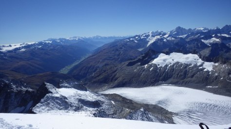 RhoneGletscher, que da vida al Ródano en el incipiente valle del Valais. foto: Eva Abascal