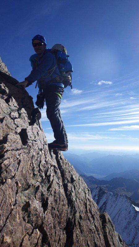 algún paso más vertical, solo para la foto... foto: Eva Abascal