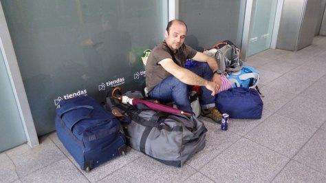 más espera para coche de alquiler en Girona... foto: Eva Abascal