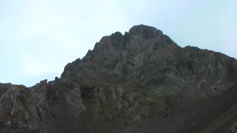 cara sur del Argualas. captura de imagen: Félix Escobar