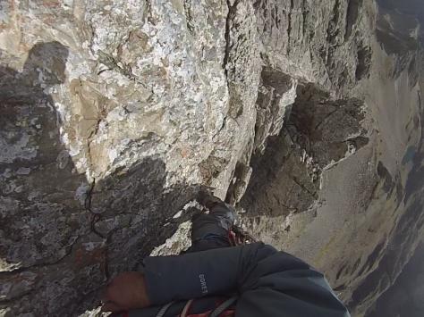 muros lisos intercalados. captura de imagen: Félix Escobar