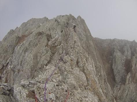 cresta final. captura de imagen: Félix Escobar
