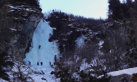 cascade de Loie. foto: Félix Escobar