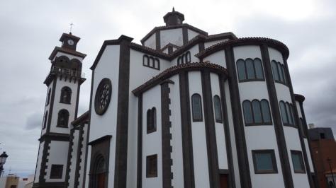 Iglesia de La Candelaria en Moya. foto: Eva Abascal
