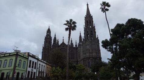 Iglesia de San Juan Bautista en Arucas. foto: Eva Abascal
