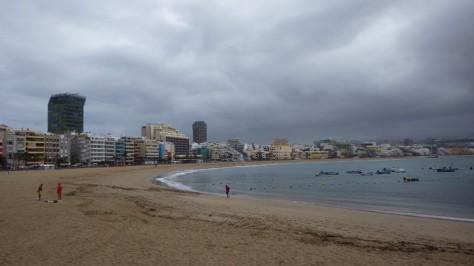 Playa de Las Canteras, Las Palmas. foto: Eva Abascal
