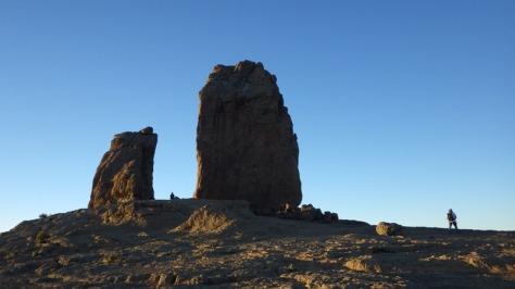 La Rana y Roque Nublo. foto: Eva Abascal