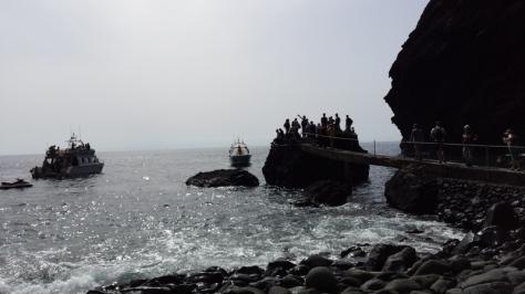 embarcadero de la playa de Masca, inaccesible en vehículo. foto: Eva Abascal