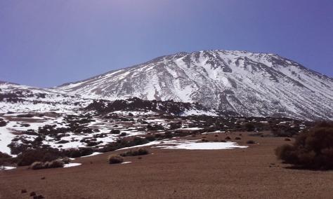 Teide desde Degollada del Cedro. foto: Félix Escobar