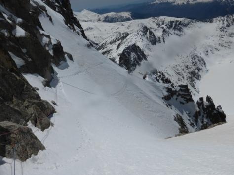segunda travesía vista desde arriba. foto: Fran Roy
