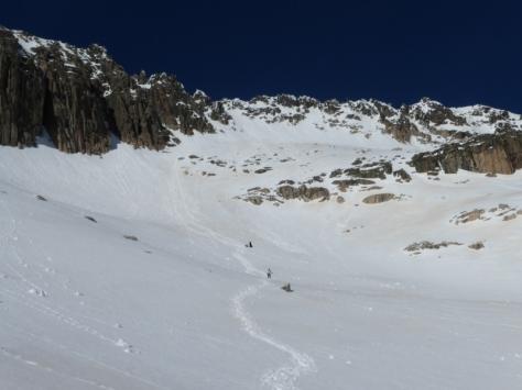 bajada hacia Coronas. foto: Fran Roy
