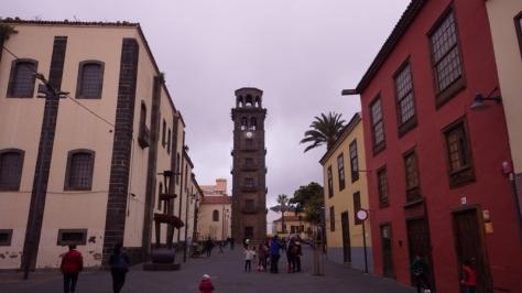Torre de la Parroquia de Nuestra Señora de La Concepción, San Cristóbal de La Laguna. foto: Eva Abascal