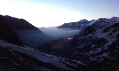 Piau-Engaly al amanecer. foto: Félix Escobar