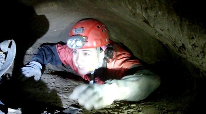 Sumidero de Ramblazo, intento de travesía espeleológica a Parralejo
