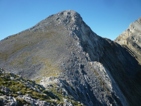lo que queda hasta la cima principal. foto: Eugenio Hernández