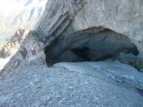 Cueva Helada de Fenés. foto: Eugenio Hernández