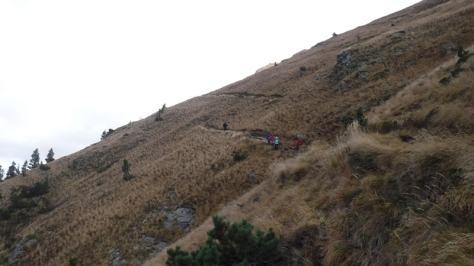 bajando por el GR10. foto: Félix Escobar
