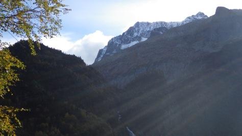 nuestro objetivo montañero para mañana, Spijeoles. foto: Eva Abascal