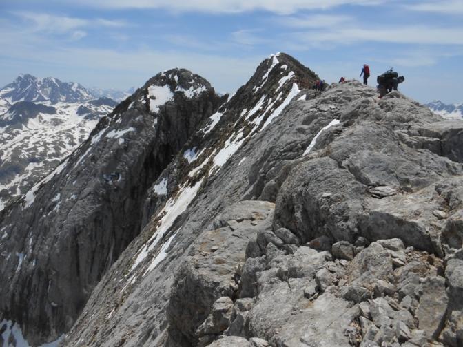 Picos del Infierno, travesía clásica