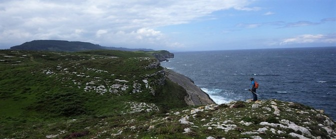 San Vicente de La Barquera, acantilados