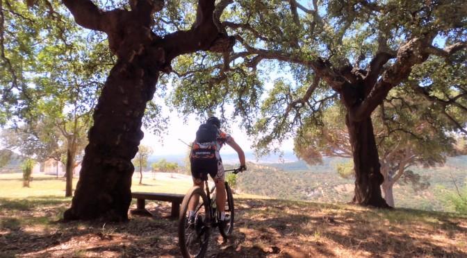 sierra de Aracena, bicicleta de montaña