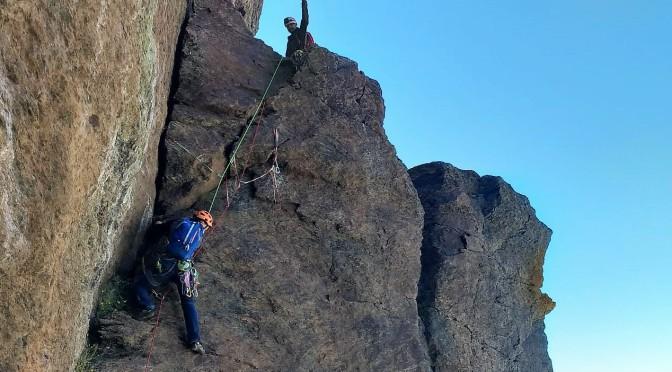 Veleta, escalada en la cara norte